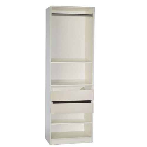Wide Tower With Free Drawer Kit