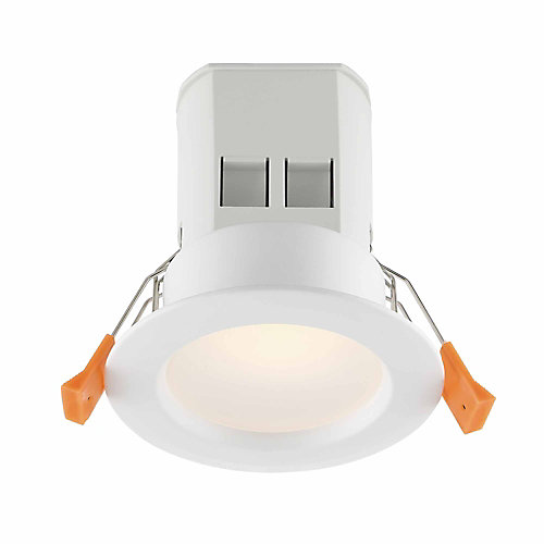 3-inch White Integrated LED Recessed Kit (4-Pack)