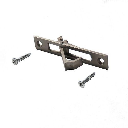 Alexandria Moulding Satin Nickel Pocket Door Edge Pull