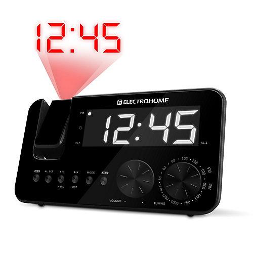 Radio-réveil AM/FM à projection d'(EAAC500US)