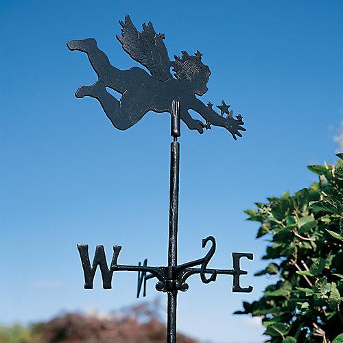 Le chérubin - la Girouette de Jardin - Noir