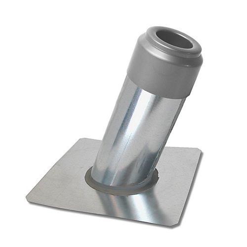 Plumbing Vent Flashing with cap 4/12 slope