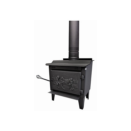 The Rocket - Small EPA Wood Stove With Cast Iron Solid Door