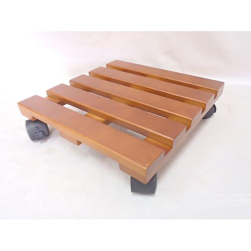 Hampton Bay 12-inch Chinese Hardwood Lattice Caddy