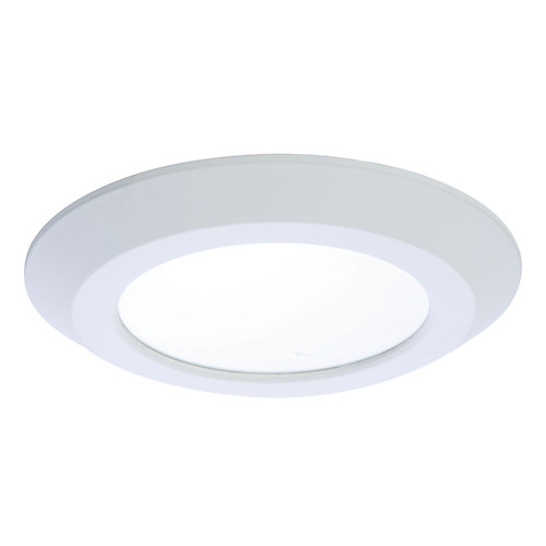 6-inch White LED Recessed or Surface Disk Light - ENERGY STAR®