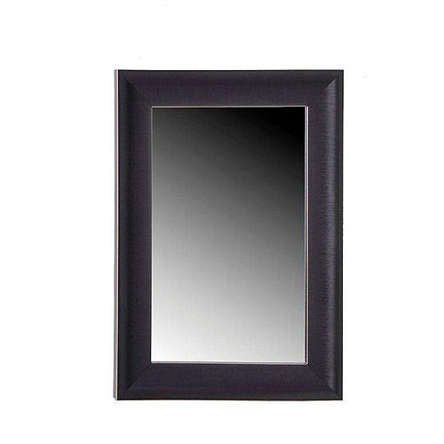 """Miroir """"Classic"""" en bois foncé - 24 pouces x 36 pouces"""