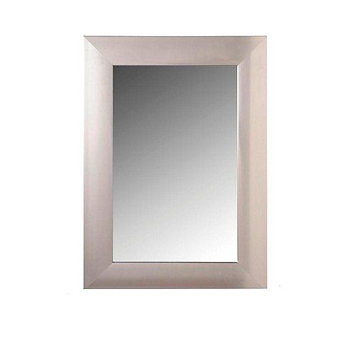 Architect Miroir en acier faux - 24 pouces x 36 pouces
