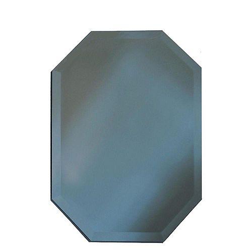 Sans cadre Miroir octogone bord biseauté