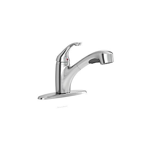 Jardin Single-Handle Pull-Out Spray Kitchen Faucet in Polished Chrome