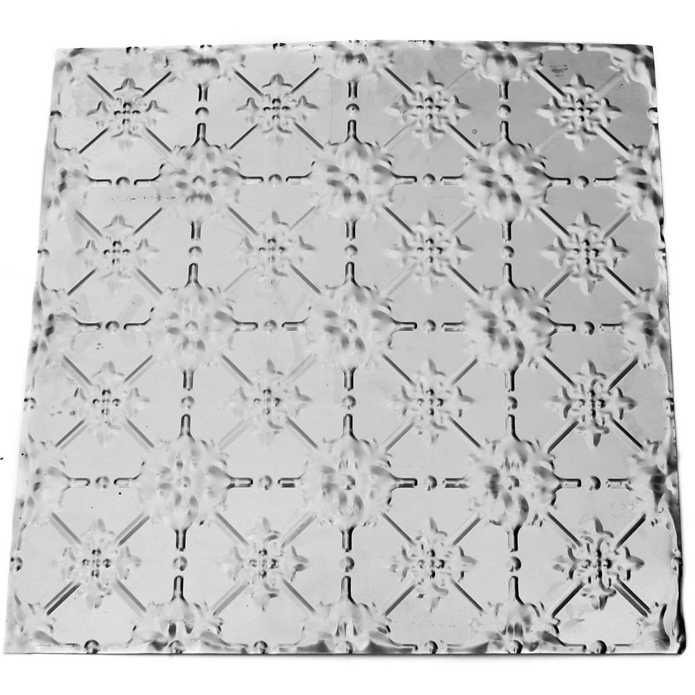 Ashton Clarke Pmd Flora pressed metal panel