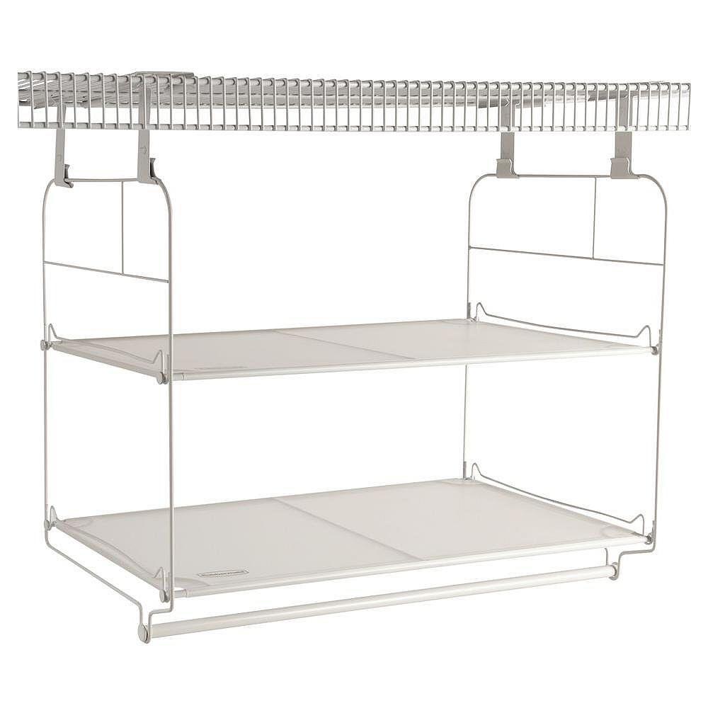 Rubbermaid Closet Helper - Shelf & Hang Kit