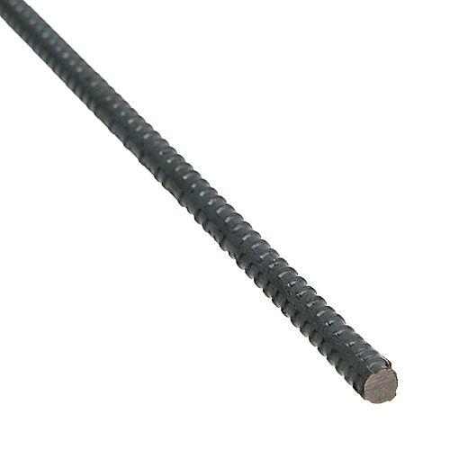 10mm Rebar 3M / 10Feet - Black Steel