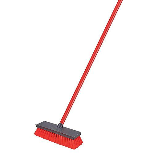 Libman Floor Scrub Brush with Broom Handle