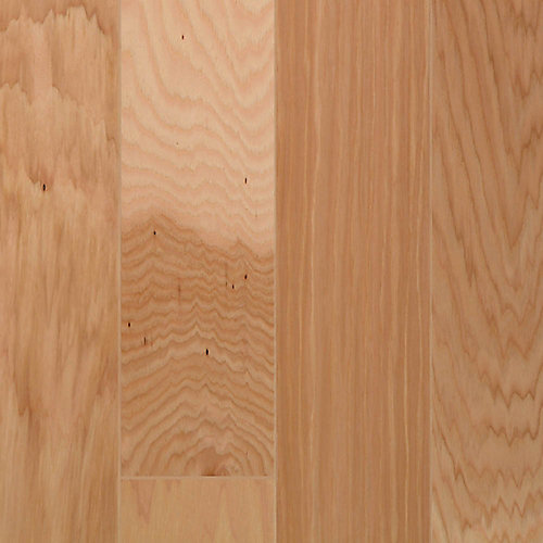 Natural Hickory 13/32-inch Thick x 7 9/32-inch W x 35 5/8-inch L Wide Plank Cork Flooring