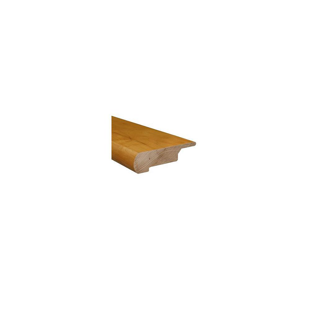 Heritage Mill 78-inches Lipover Stair Nose Matches Natural Maple Click Floor