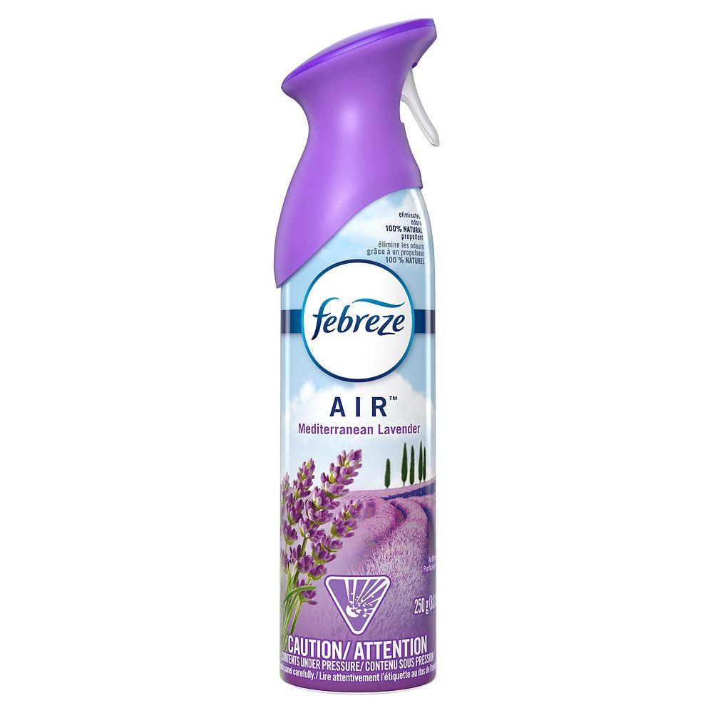 Febreze 250 g Mediterranean Lavender Scent Odor-Eliminating Spray Air Freshener