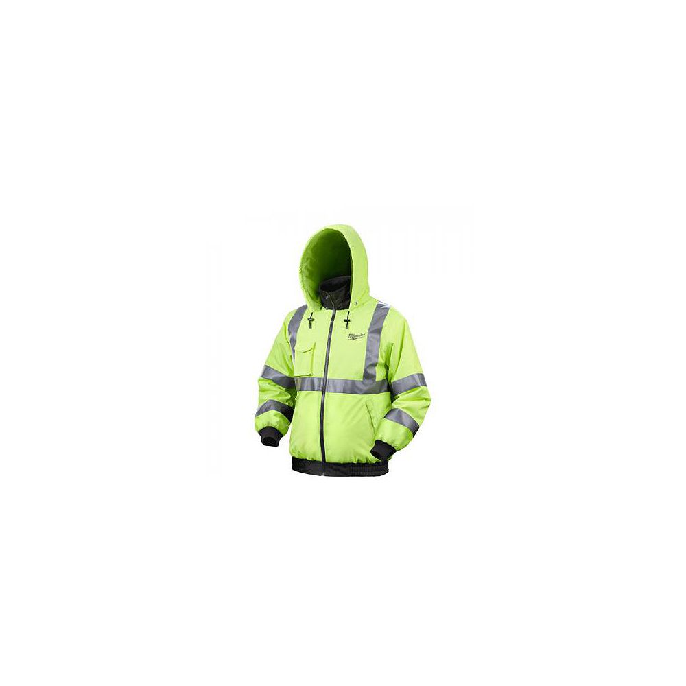 Milwaukee Tool M12  High Visibility  Heated Jacket With Battery - Medium