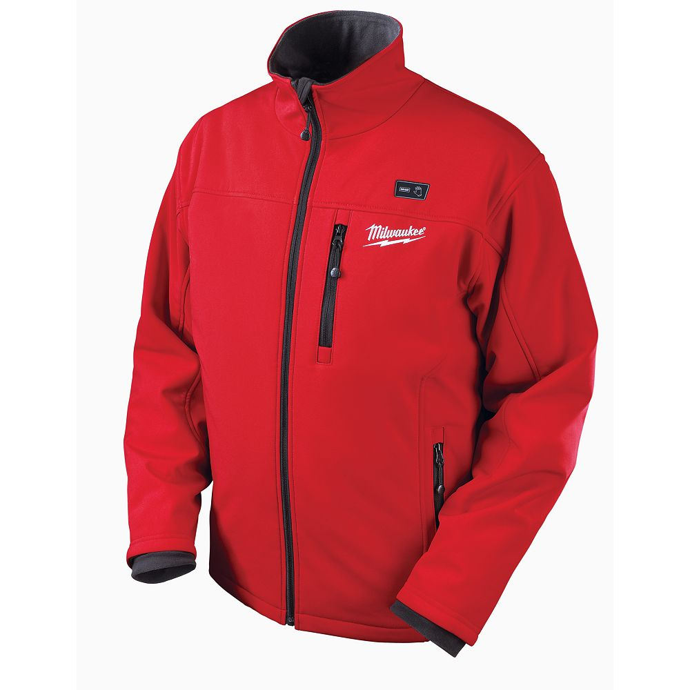 Milwaukee Tool M12  Red Premium Multi-Zone Heated Jacket  With Battery - Xxxlarge