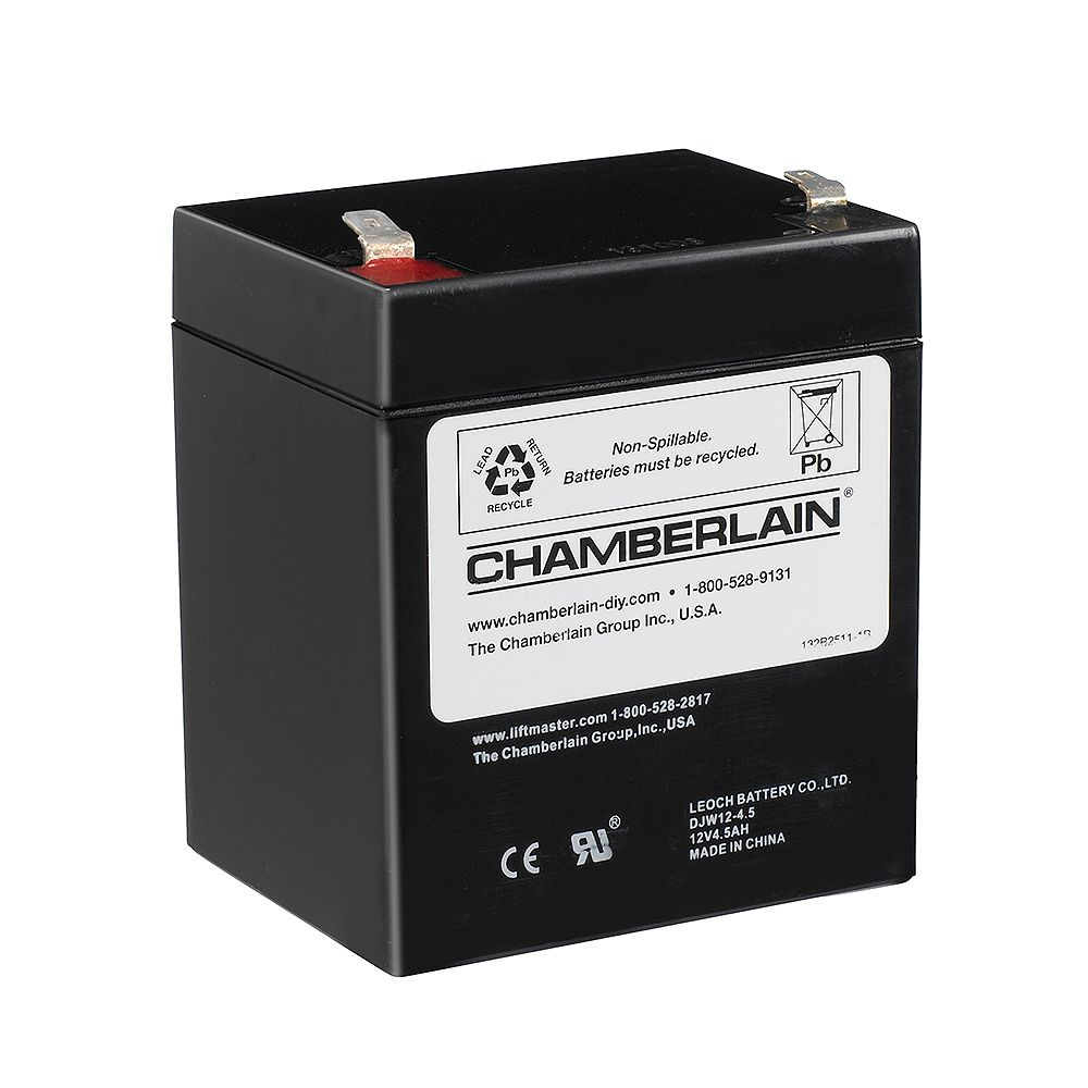 Chamberlain Battery Backup System Replacement Battery The Home Depot Canada