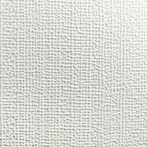 Lin Papier Peint Peinturable Blanc