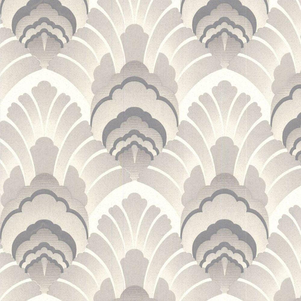 Graham & Brown Original Grey/Cream Wallpaper
