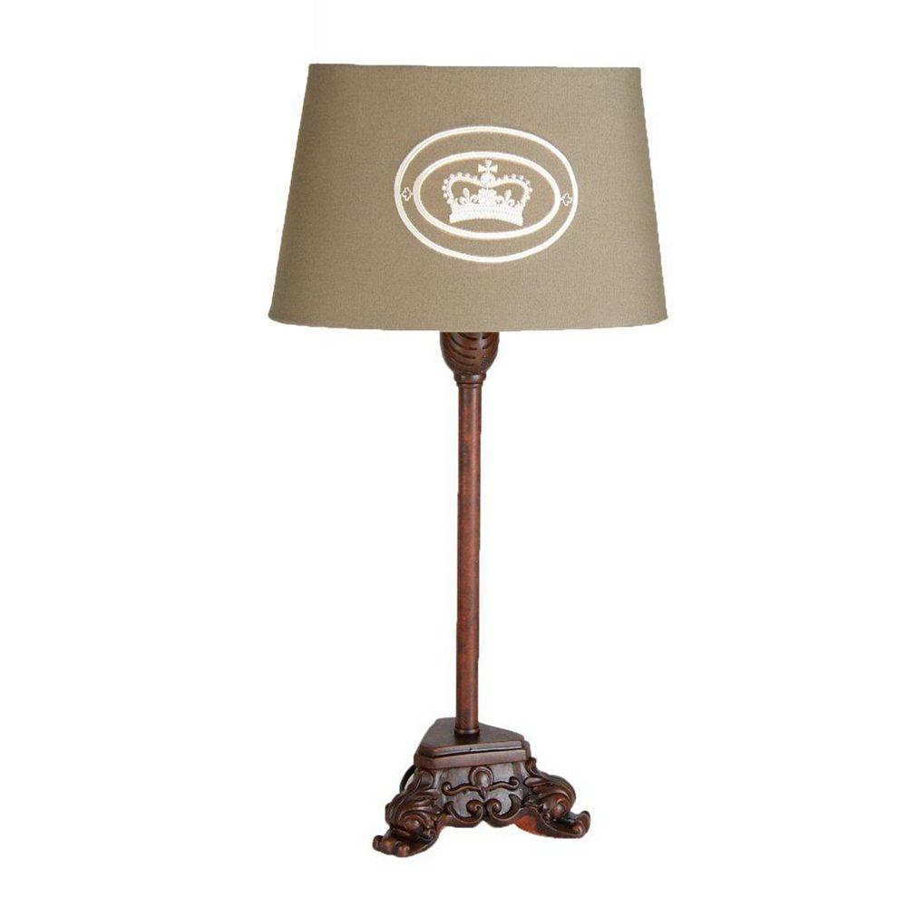 Illumine 1 Light Table Lamp Beige Finish