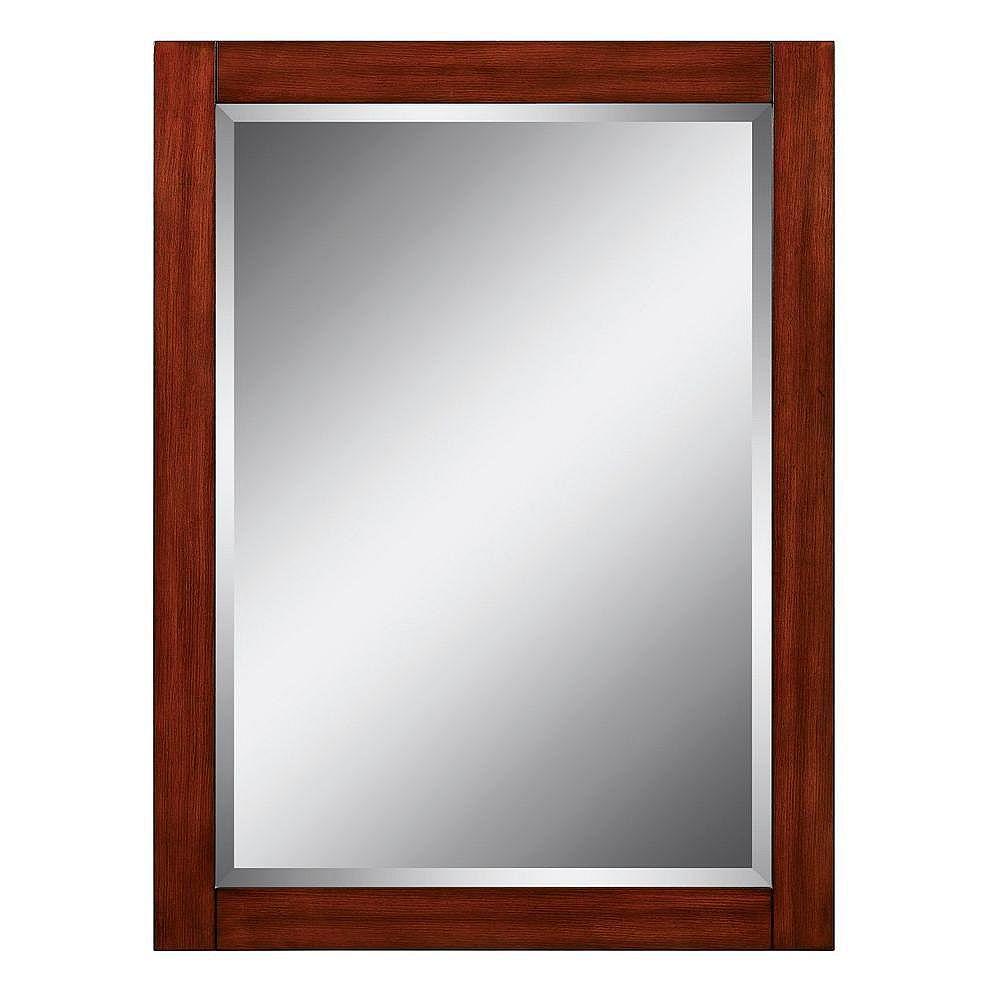 Antiqua 28 Inch Sanford Bath Mirror