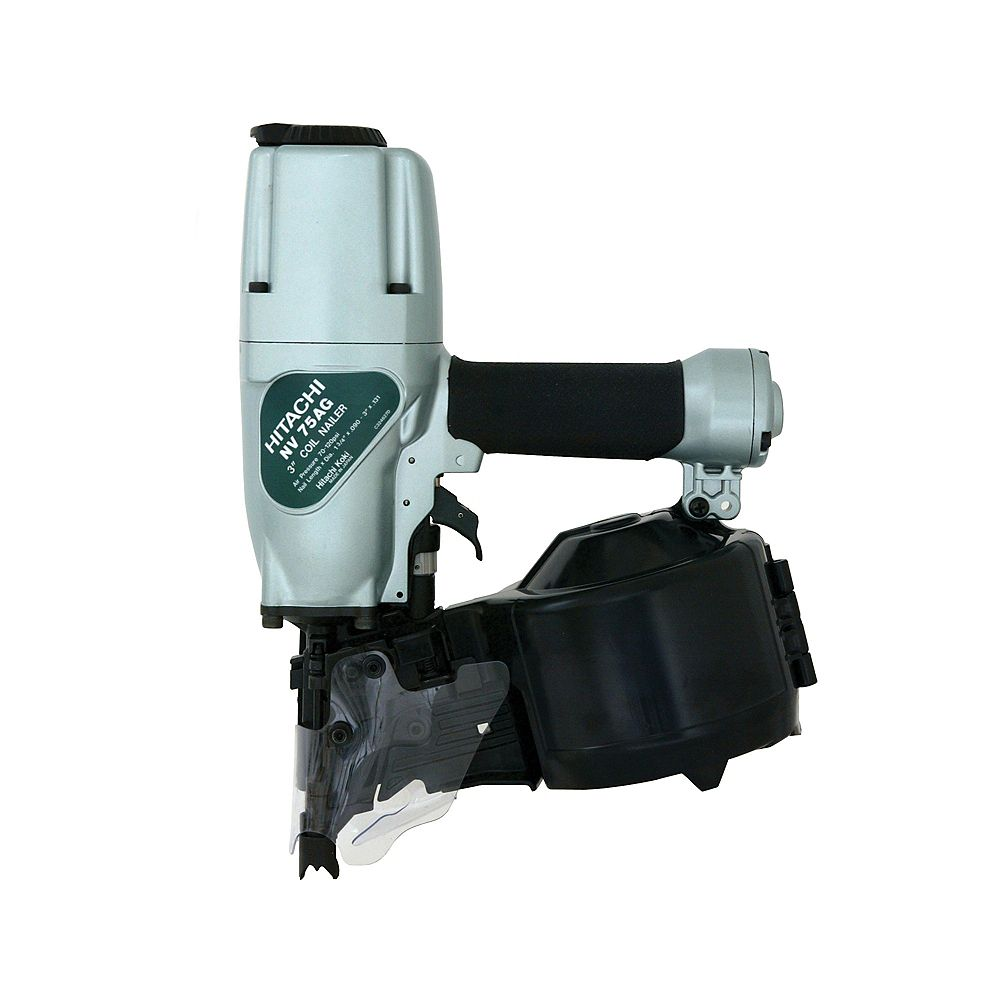 Hitachi Power Tools 3-Inch Siding and Framing Nailer with Safety Glasses and 3-Hex Bar Wrenches