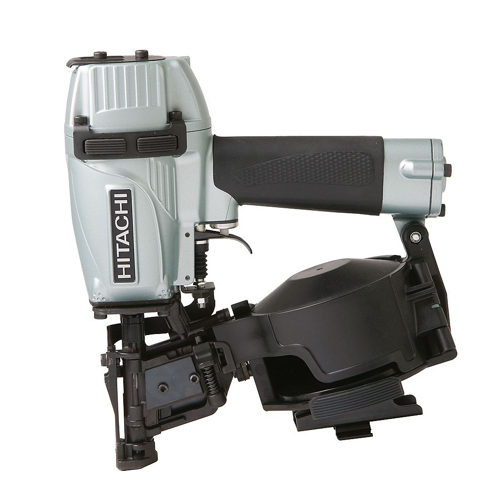 Hitachi Power Tools 1-3/4-Inch Side Magazine Roofing Coil Nailer with Carbide Insert, Safety Glasses and Hex Bar Wrenches