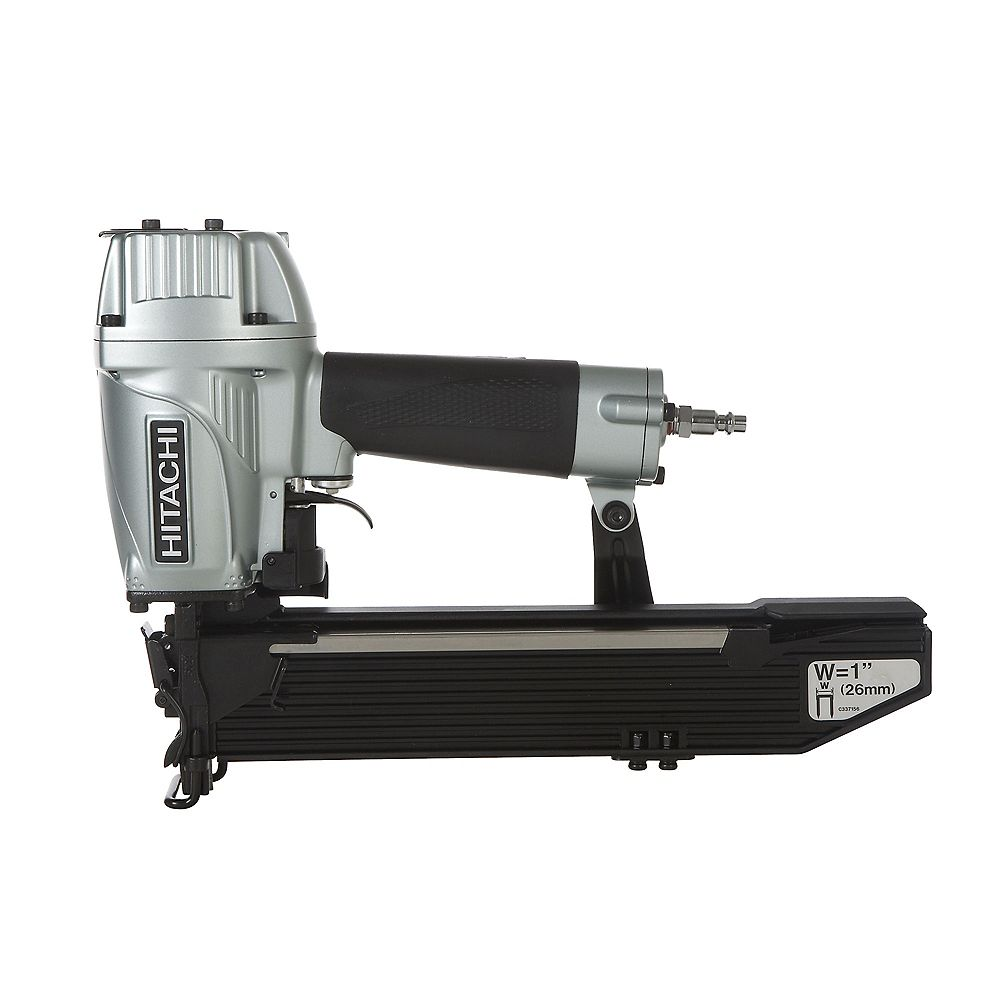 Hitachi Power Tools 1 Inch Wide Crown Stapler