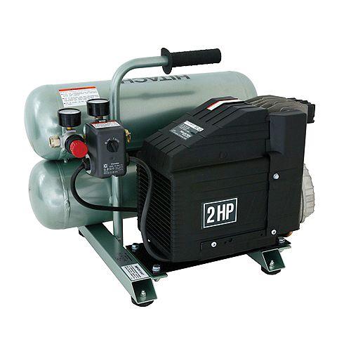 4 Gal Twin Stack Compressor Oil Lub
