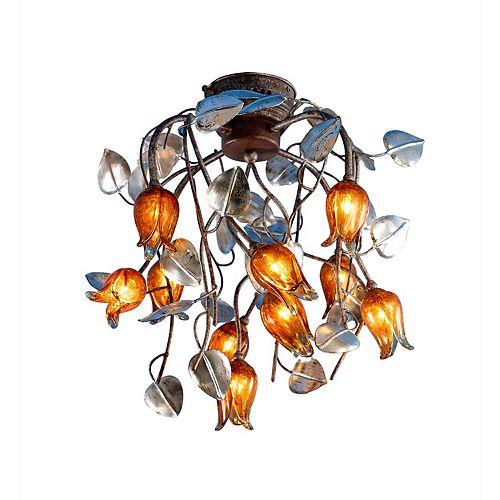 10 La Lumière Tulipe Montage encastré