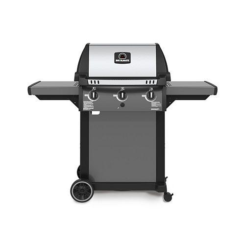 3-Burner Natural Gas BBQ in Cast Aluminum