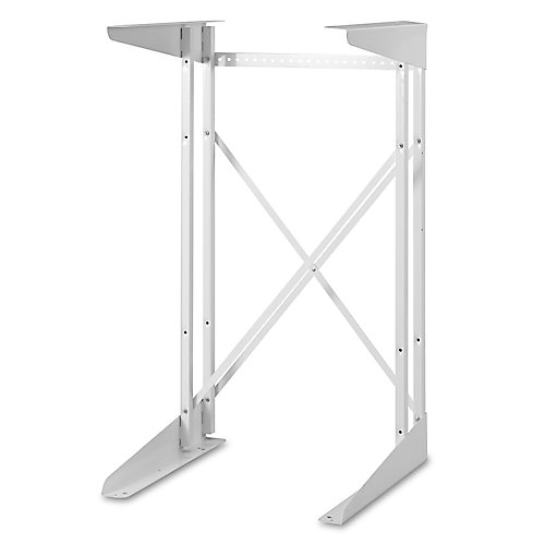 Compact Dryer Stand in White
