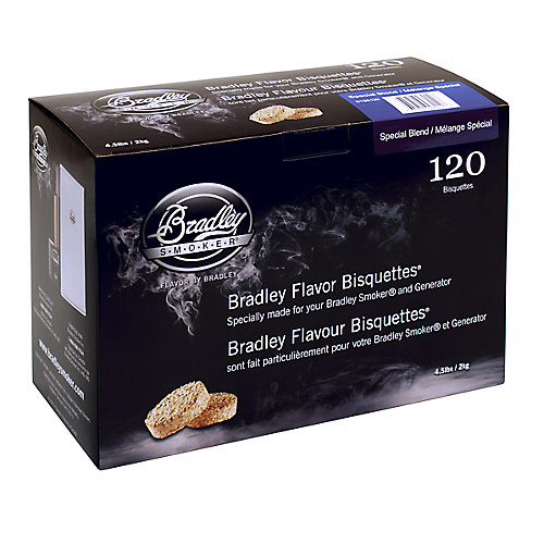 Special Blend Smoking Bisquettes (120-Pack)