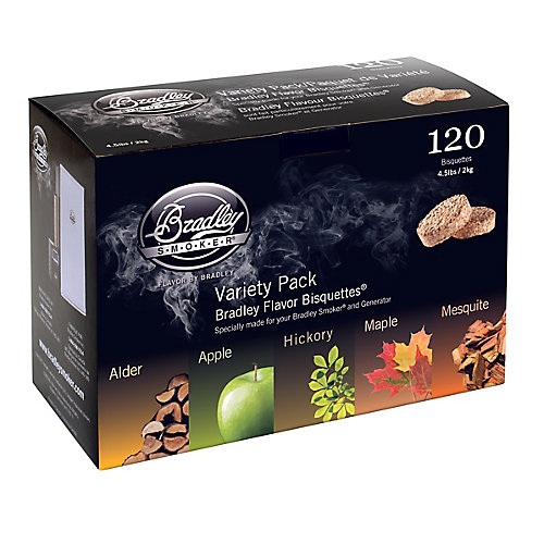 5-Flavour Smoking Bisquette (120-Pack)