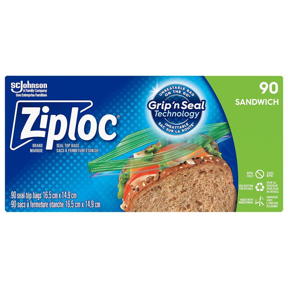 Ziploc Brand Sandwich Bags (90-Count)