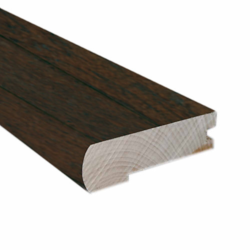 78-inches Hand Scraped Flush Mount Stair Nose-Matches Chestnut Hickory Click Flooring