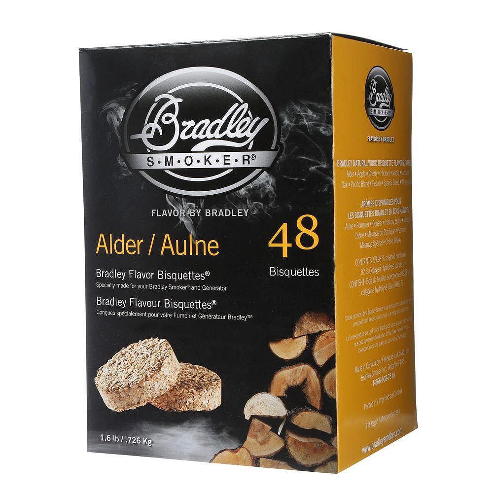 Bradley Smoker Alder Smoking Bisquettes (48-Pack)