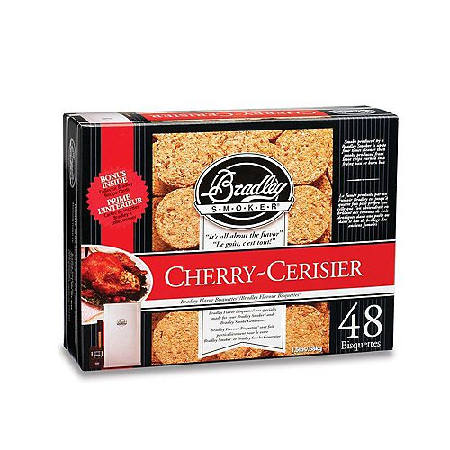 Cherry Smoking Bisquettes (48-Pack)