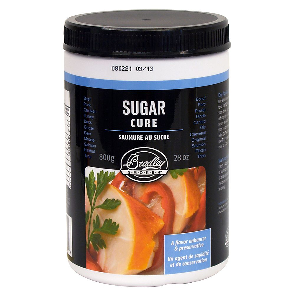 Bradley Smoker Sugar Cure for Meat (800g)