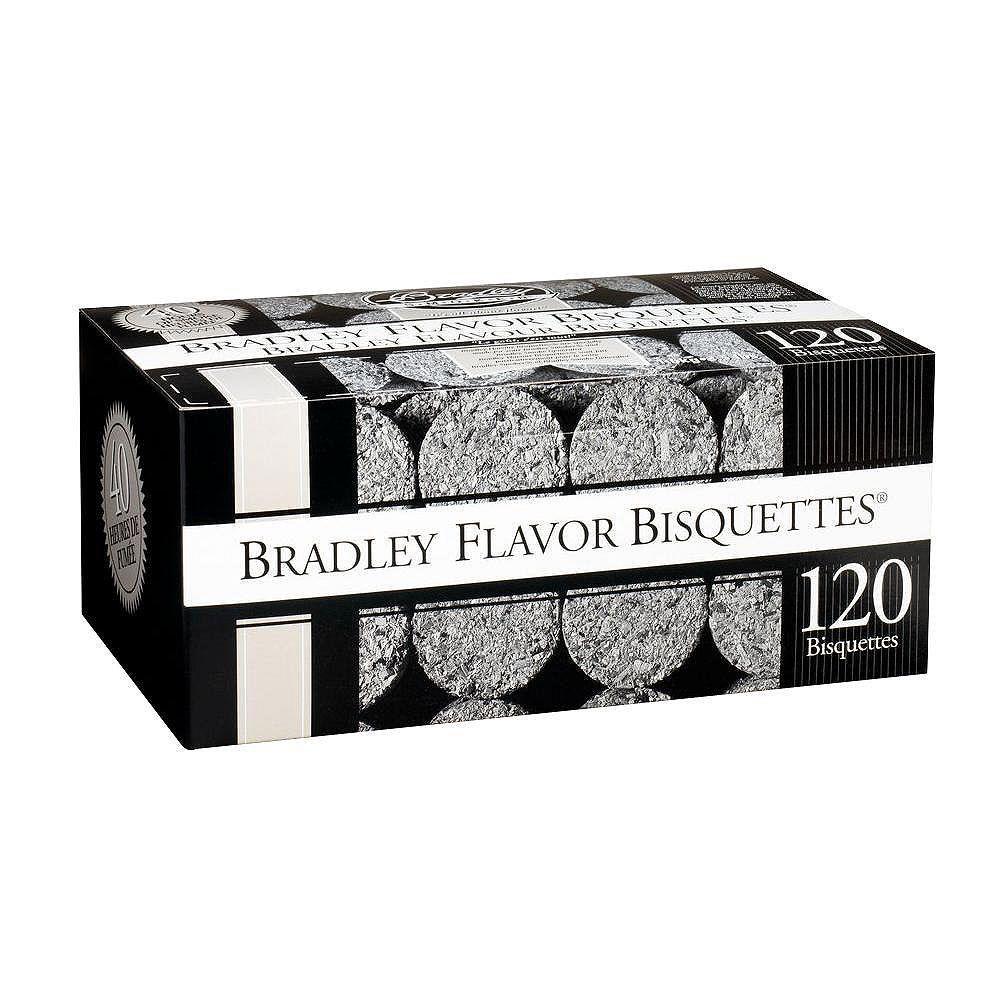 Bradley Smoker Alder Smoking Bisquettes (120-Pack)