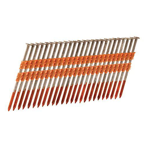 Hitachi Power Tools Cloueuse à bande de plastique pour charpente
