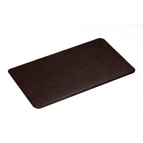 Imprint Comfort Mats Nantucket Series Standard Cinnamon 20-inch x 36-inch Mat
