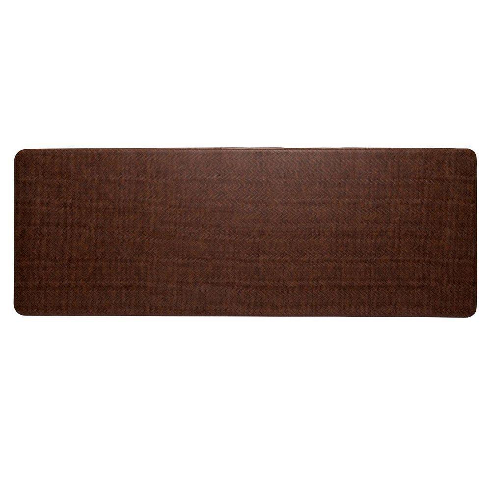 Imprint Comfort Mats Cobblestone Brown 1 ft. 8-inch x 6 ft.  Rectangular Runner