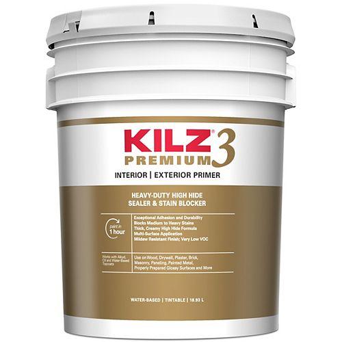 KILZ 3 PREMIUM Interior/Exterior Primer - 18.9 L