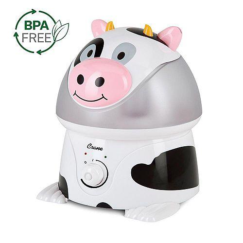 Ultrasonic Cool Mist Humidifier, Cow