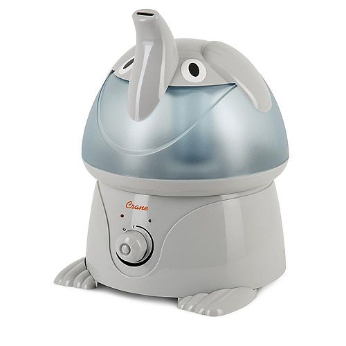 Ultrasonic Cool Mist Humidifier, Elephant
