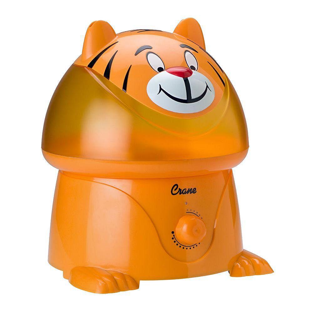 Crane Ultrasonic Cool Mist Humidifier, Tiger