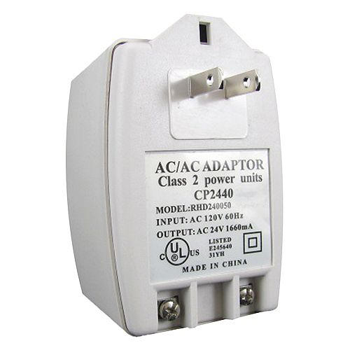Elite 24 Volts AC Power Transformer